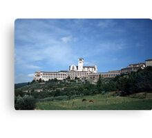 St Francis in Assisi Canvas Print