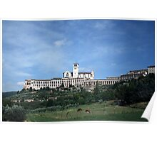 St Francis in Assisi Poster