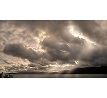 Even the Darkest of Skies Have Their Lights… Photographic Print