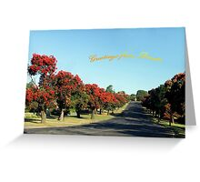 Greetings from Drouin, Australia Greeting Card