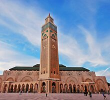 Hassan  II Mosque by Peter Hammer