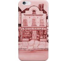 An English village iPhone Case/Skin