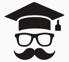 Student mustache graduation One Piece - Short Sleeve