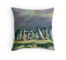 Henge: Storm Throw Pillow