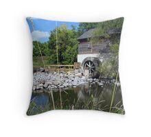 Grants Old Mill - Winnipeg Throw Pillow