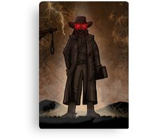 The Hangman Canvas Print