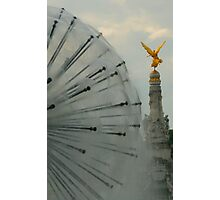 FOUNTAIN BALL AND ANGEL IN REIMS Photographic Print