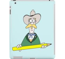 The Fastest Draw In The West iPad Case/Skin