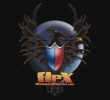 ApX Press logo shirt by ArmoredPhoenix