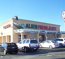 Alien Fresh Jerky Store Front by Snoboardnlife
