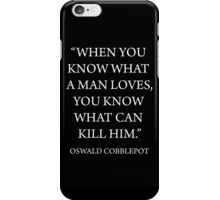 What A Man Loves iPhone Case/Skin