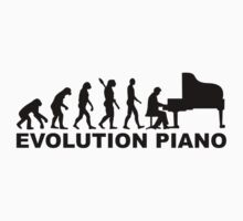 Evolution Grand Piano One Piece - Long Sleeve