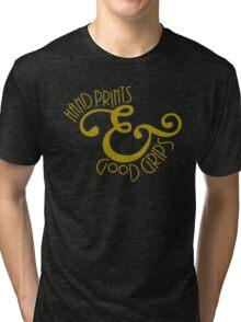 Hand Prints & Good Grips Tri-blend T-Shirt