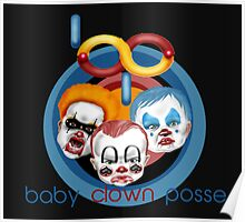 baby clown posse Poster