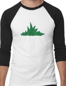 Green grass Men's Baseball ¾ T-Shirt