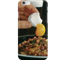 egg yolk. iPhone Case/Skin