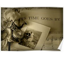 As Time Goes By ... Poster
