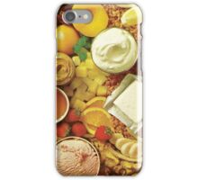 dessert. iPhone Case/Skin