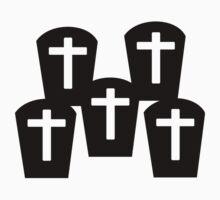 Cemetery Gravestones by Designzz