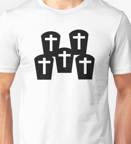 Cemetery Gravestones Unisex T-Shirt