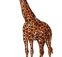 Giraffe by Nicolae Negura