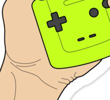 Handle the Game Boy Sticker