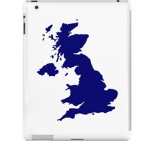 Great Britain Map iPad Case/Skin