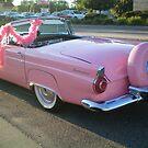 1956 PINK T-Bird! by Diane Trummer Sullivan