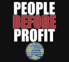 People Before Profit - black by riotgear