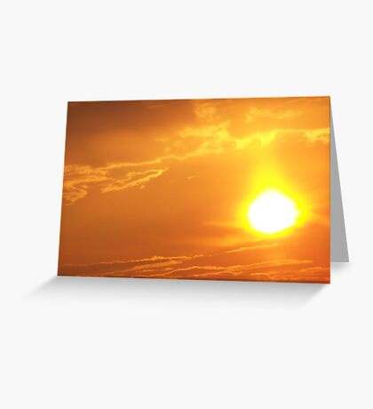 """He Said """"Let There Be Light!"""" Greeting Card"""