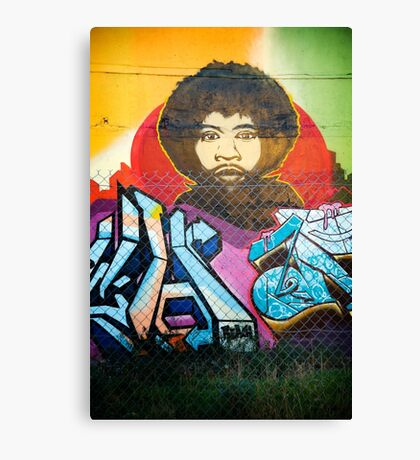 Fitzroy grafitti  Canvas Print
