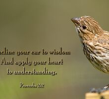 Incline your ear to wisdom . . . by Bonnie T.  Barry