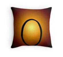 Sunrise, Sunset (Enso 2) Throw Pillow