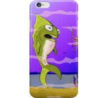 Punked Fish iPhone Case/Skin