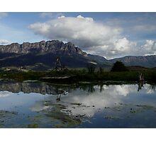 photoj Tas Mt Roland Photographic Print