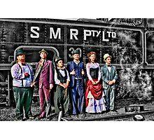 Mojo & The Train Photographic Print