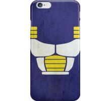 Minimalist Saiyan armor (v2) iPhone Case/Skin