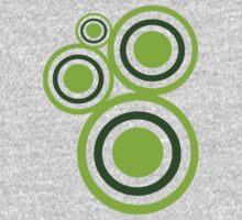 Green circles Kids Clothes