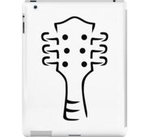 Guitar head iPad Case/Skin