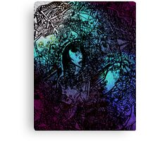 Life is Coloured 2 Canvas Print