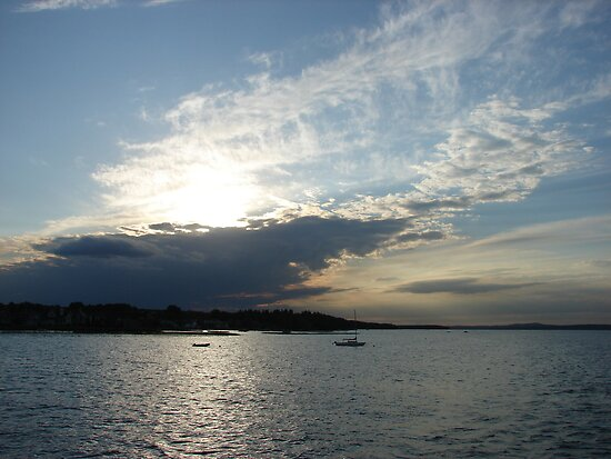 An Evening on the Lake by Diane Petker