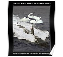 The Sound Harpoon Poster