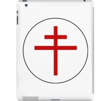 Roundel of the Free French Air Force, 1940-1945 iPad Case/Skin