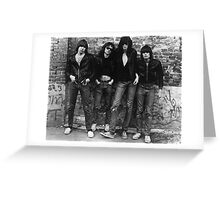 Ramones Greeting Card