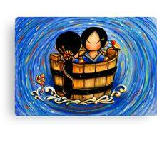 Mi & Yuu Canvas Print