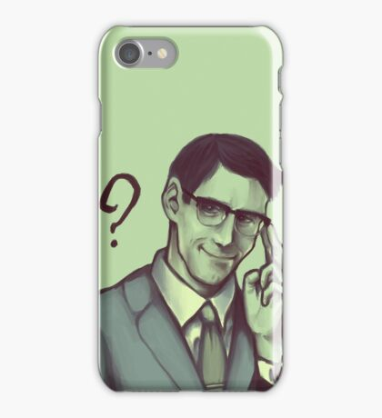 Edward Nygma iPhone Case/Skin