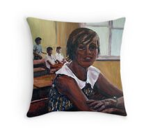 And....back to Bourke, again. Throw Pillow