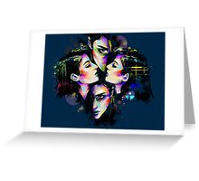Drowning For You Greeting Card