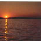 Sunset #3     Vancouver Island by gypsykatz