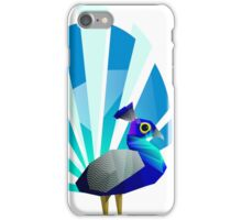 Peacock solo iPhone Case/Skin
